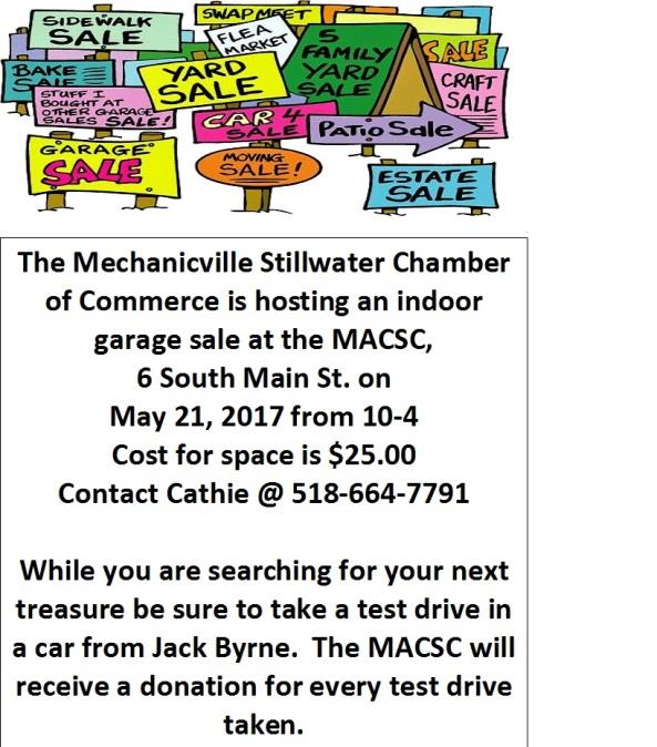 Chamber Garage Sale